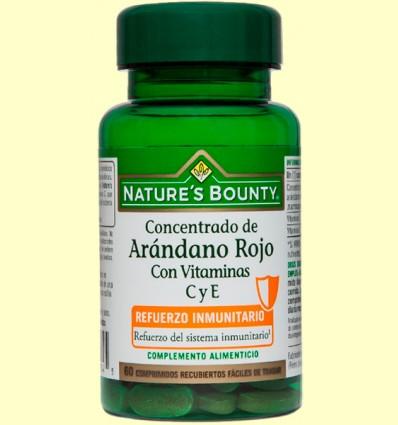 Concentrado de Arándano Rojo - Nature's Bounty - 60 comprimidos
