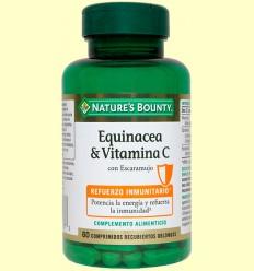 Equinacea & Vitamina C - Nature's Bounty - 60 cápsulas