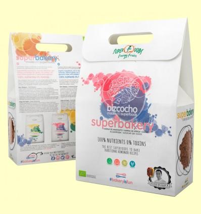 Superbakery Bizcocho Eco - Energy Feelings - 3 bolsitas