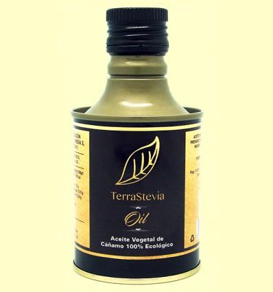 Aceite Vegetal de Cáñamo Eco - TerraStevia - 250 ml *