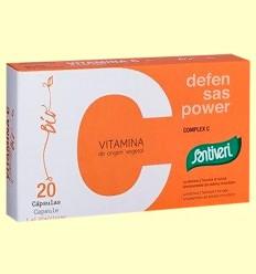 Vitamina Complex C BIO - Santiveri - 20 cápsulas