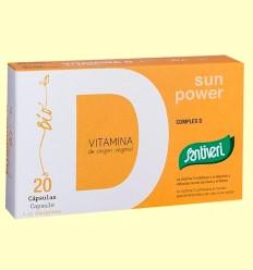 Vitaminas Complex D BIO - Santiveri - 20 cápsulas