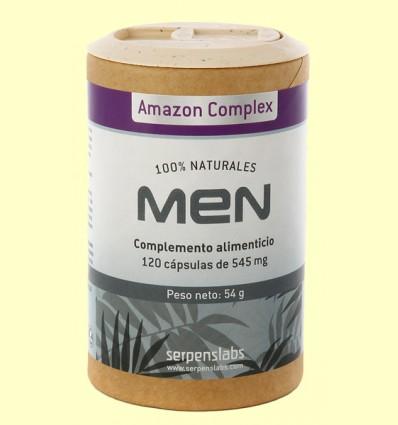 Men Amazon Complex - Serpens - 120 cápsulas
