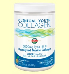 Colágeno Marino Tipo I y III Clinical Youth - Solaray - 299 gramos