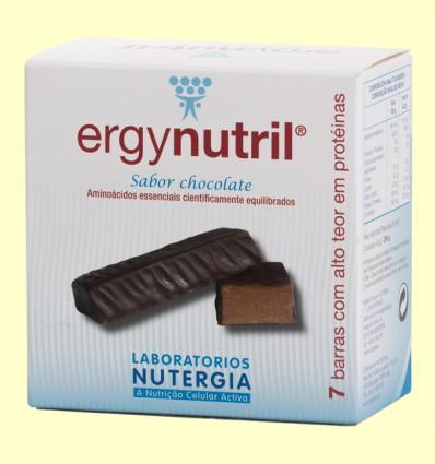 Ergynutril Barritas Chocolate - Nutergia - 7 barritas