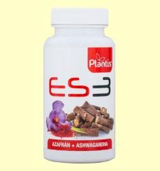 ES3 - Azafrán y Ashwaganda - Plantis - 30 cápsulas