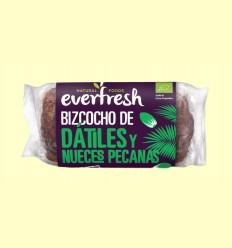 Bizcocho de Dátiles y Nueces Pecanas Bio - Everfresh - 400 gramos