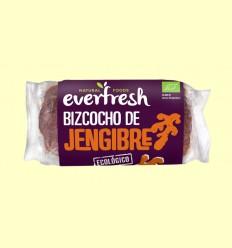 Bizcocho de Jengibre Bio - Everfresh - 380 gramos