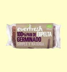 Pan Germinado de Espelta Ecológico - Everfresh - 400 gramos
