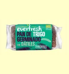 Pan de Trigo Germinado con Dátiles Bio - Everfresh - 400 gramos