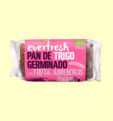 Pan de Trigo Germinado con Frutos Secos Bio - Everfresh - 400 gramos