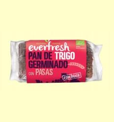 Pan de Trigo Germinado con Pasas Bio - Everfresh - 400 gramos *