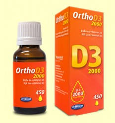 Vitamina Ortho D3 2000 UI - Orthonat - 23 ml