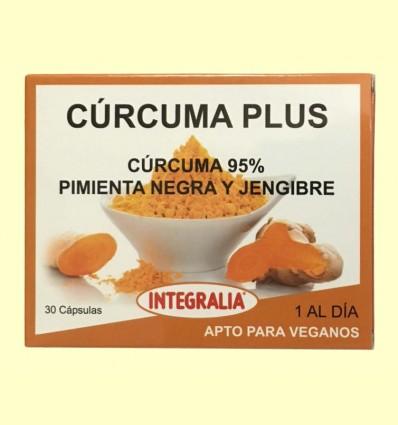 Cúrcuma Plus - Integralia - 30 cápsulas