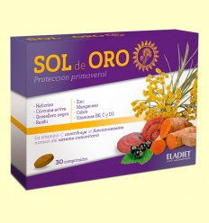 Sol de Oro comprimidos - Ayuda contra las alergias - Eladiet - 30 comprimidos