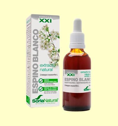 Espino Blanco Fórmula XXI - Extracto natural - Soria Natural - 50 ml