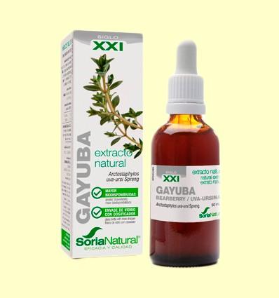 Gayuba Fórmula XXI - Extracto de Glicerina Vegetal - Soria Natural - 50 ml