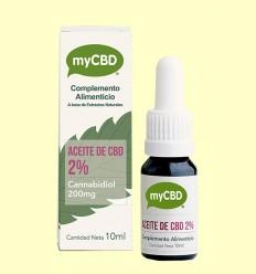 Aceite de CBD 2% - myCBD - 10ml