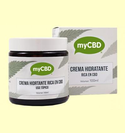 Crema Hidratante CBD - myCBD - 100 ml