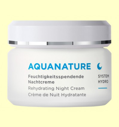 Aquanature Crema de Noche Hialurónica - Anne Marie Börlind - 50 ml