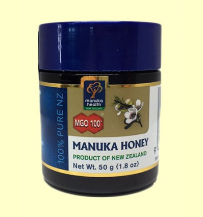 Miel de Manuka MGO100+ Manuka Honey - Manuka World - 50 gramos