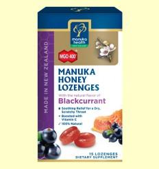 Caramelos de Miel de Manuka MGO 400+ con Grosellero Negro - Manuka Health - 65 gramos
