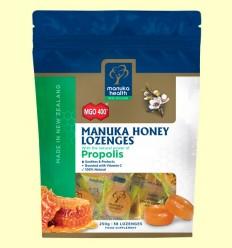 Caramelos de Miel de Manuka MGO 400+ con Própolis - Manuka World - 250 gramos