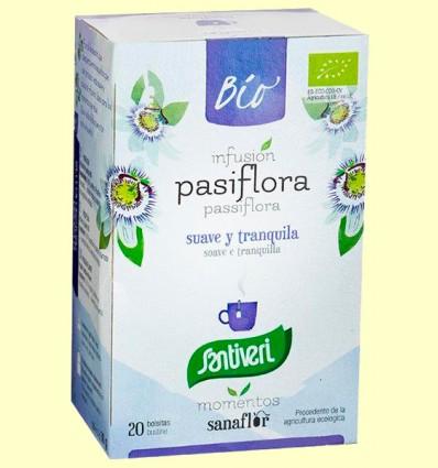 Pasiflora Infusiones Bio - Santiveri - 20 bolsitas filtro
