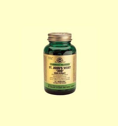 Extracto de Hipérico 300 mg estandarizado - Solgar - 50 cápsulas *