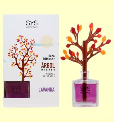 Ambientador Difusor Árbol Lavanda - Laboratorio SyS - 90 ml