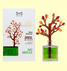 Ambientador Difusor Árbol Raíz Angélica - Laboratorio SyS - 90 ml