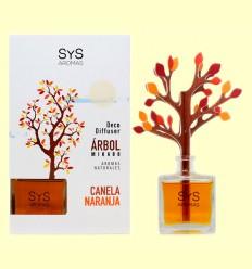 Ambientador Difusor Árbol Canela-Naranja - Laboratorio SyS - 90 ml