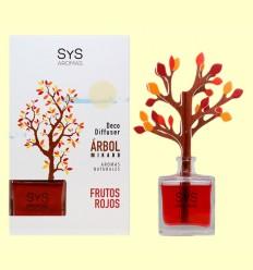 Ambientador Difusor Árbol Frutos Rojos - Laboratorio SyS - 90 ml