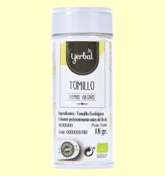 Tomillo Eco en Lata - Yerbal - 18 gramos