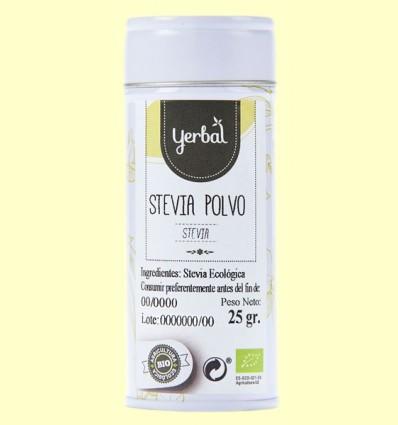 Estevia en Polvo Eco - Yerbal - 25 gramos