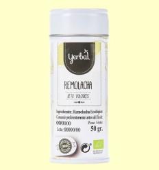 Remolacha en Polvo Ecológica - Yerbal - 50 gramos