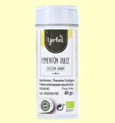Pimentón Dulce Eco - Yerbal - 40 gramos