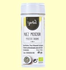 Nuez Moscada Ecológica - Yerbal - 40 gramos