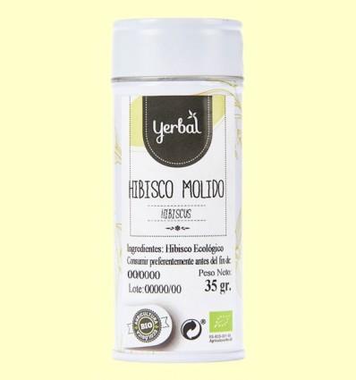 Hibisco Molido Ecológico - Yerbal - 35 gramos