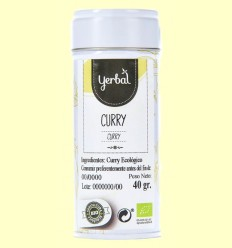 Curry Ecológico - Yerbal - 40 gramos