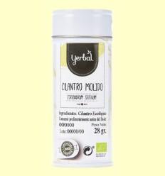 Cilantro Molido Ecológico - Yerbal - 28 gramos