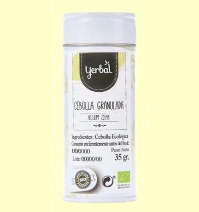 Cebolla Granulada Ecológica - Yerbal - 35 gramos