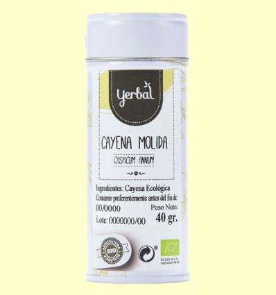 Cayena Molida Ecológica - Yerbal - 40 gramos