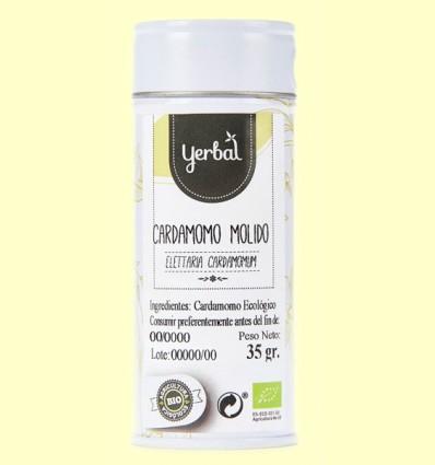 Cardamomo Molido Ecológico - Yerbal - 35 gramos