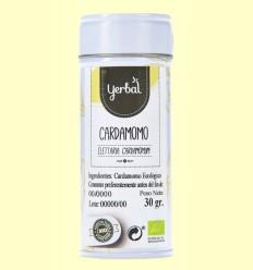 Cardamomo Ecológico - Yerbal - 30 gramos