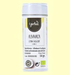 Albahaca Ecológica - Yerbal - 14 gramos
