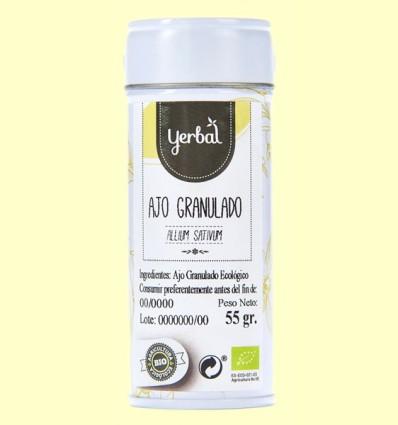 Ajo Granulado Ecológico - Yerbal - 55 gramos