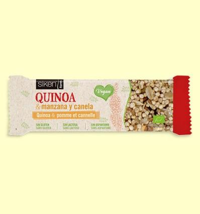 Barrita de Quinoa Manzana y Canela Bio - Siken Form - 1 barrita