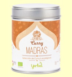Curry Madras Ecológico - Yerbal - 80 gramos