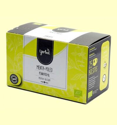 Infusión Menta Poleo Ecológico - Yerbal - 25 bolsitas